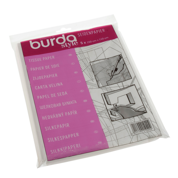 Burda Tissue Paper 5 sheets 110cm x 150cm