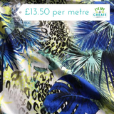 Tropical Viscose Jersey