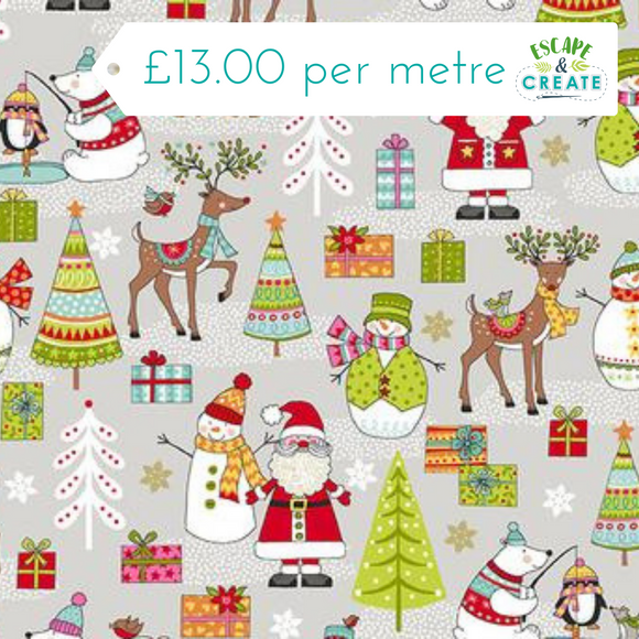 Now £10.40 p/m Festive Scene by Makower