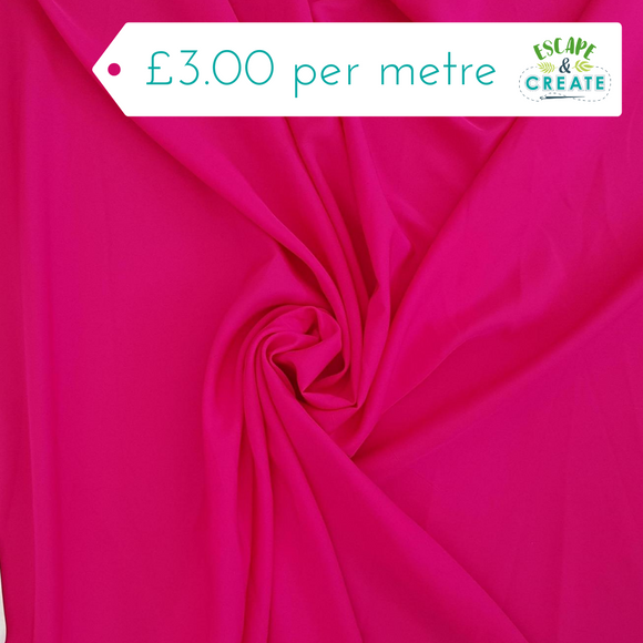 Dress Lining Super Soft in Cerise