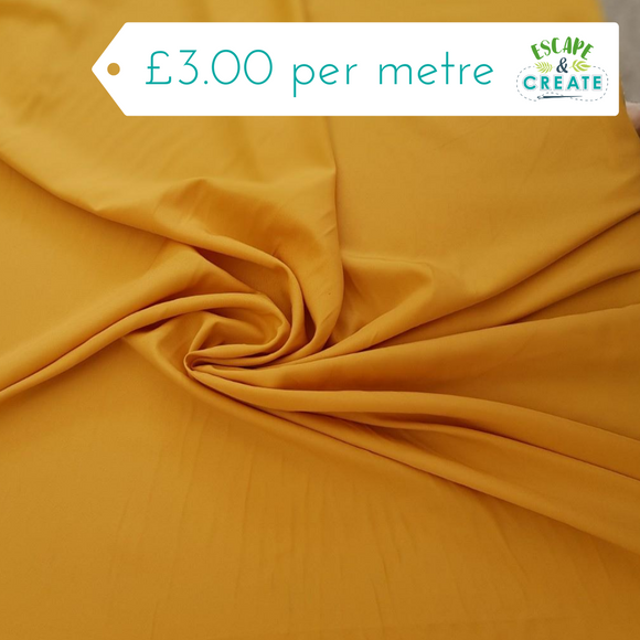 Dress Lining Super Soft in Gold