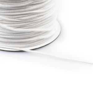 Elastic - Supersoft 3mm White by Prym (Perfect for Masks)
