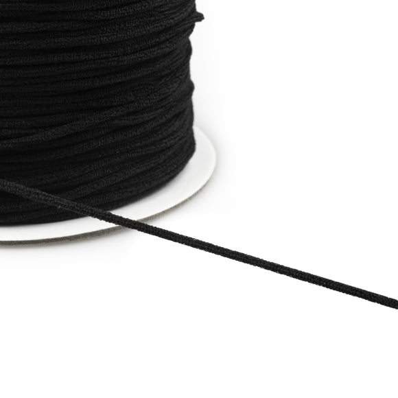 Elastic - Supersoft 3mm Black by Prym (Perfect for Masks)
