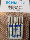 Machine Needles - Jersey Ballpoint 90/14 (pack of 5) by Schmetz
