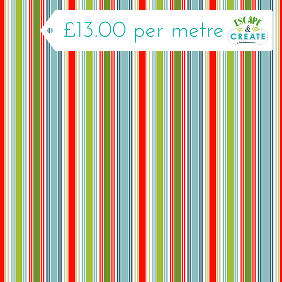 Joyful Christmas Deck Stripe by Makower