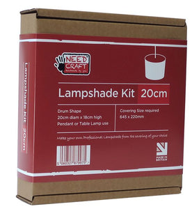 Lampshade Kits 20cm Drum Shape