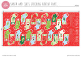 Panel by Craft Cotton Co - Santa & Elves Stocking Advent by Stuart Hillard (9)