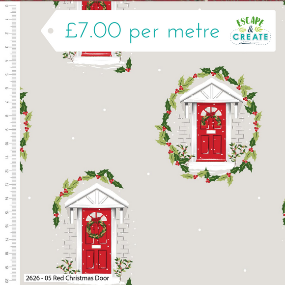 Trad Christmas by Craft Cotton Co Red Door