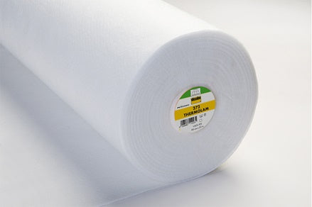 Thermolam Heat/Cold Resistant Sew-In Nonwoven Volume Fleece White 90cm wide