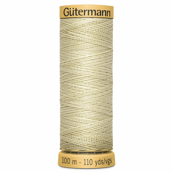 Natural Cotton Thread 100m Colour 0829
