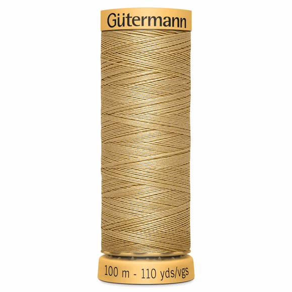 Natural Cotton Thread 100m Colour 1037