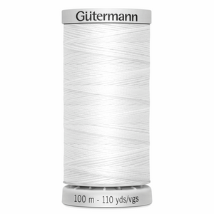 Gutermann Extra Strong 100m Colour WHITE