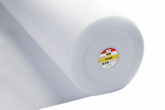H640 Fusible Fleece White 90cm Wide Vilene