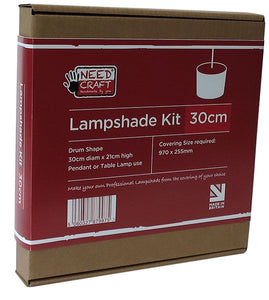 Lampshade Kits 30cm Drum Shape