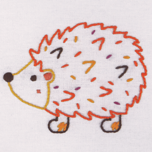 Embroidery Kit - Hedgehog
