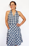 Rose City Halter Dress Pattern by Sew House Seven