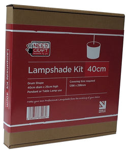 Lampshade Kits 40cm Drum Shape