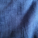 Cotton Jacquard in Jeans Blue