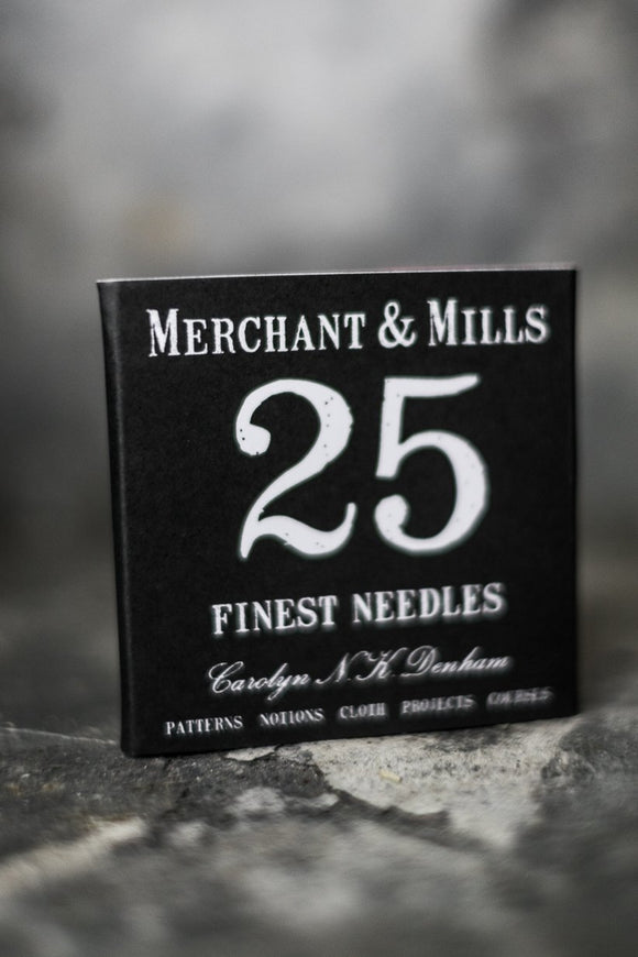 Merchant & Mills Finest Sewing Needles 25
