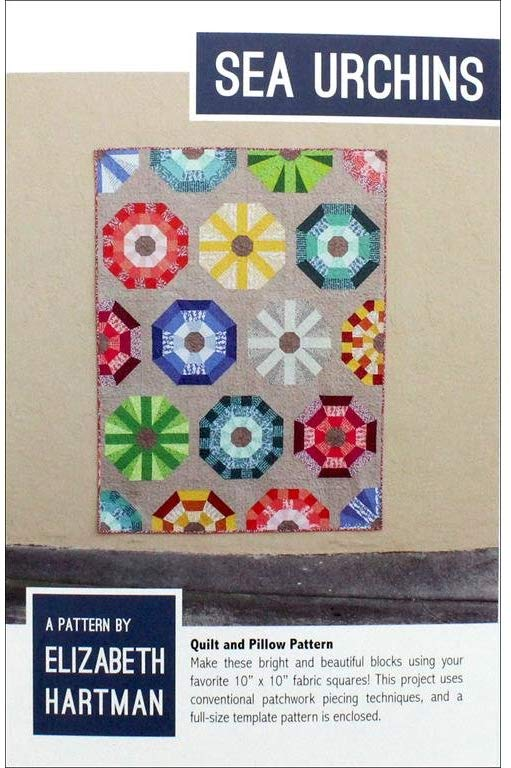 Sea Urchins Quilt Pattern by Elizabeth Hartman