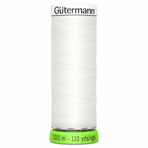 G/MANN SEW ALL Recycled 100M Colour 800 (WHITE)