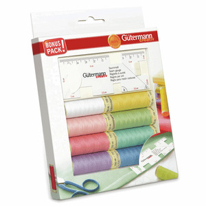 Gutermann Sew All Set of 8 plus Seam Gauge