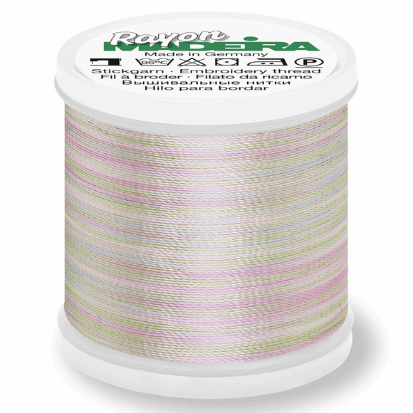 Madeira Rayon Multi Colour No. 40 - 200m - Col 2101