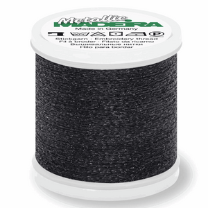 Madeira Metallic Thread No 40 - 200m - Col 070 Graphite