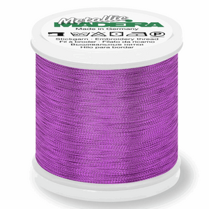 Madeira Metallic Thread No 40 - 200m - Col 311 Amethyst