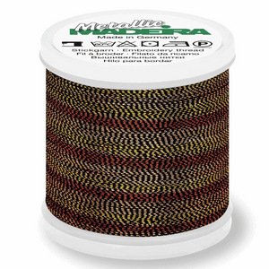 Madeira Metallic Thread No 40 - 200m - Col 482 Tiger Eye