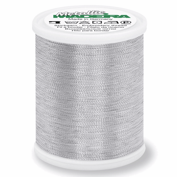 Madeira Metallic Thread No 40 - 1000m - Alu