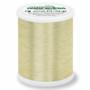 Madeira Metallic Thread No 40 - 1000m - Gold 3