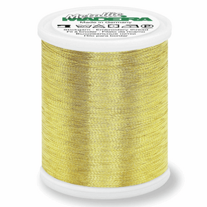 Madeira Metallic Thread No 40 - 1000m - Gold 6