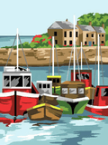 Canvas Tapestry Kit - Royal Paris Tranquil Harbour