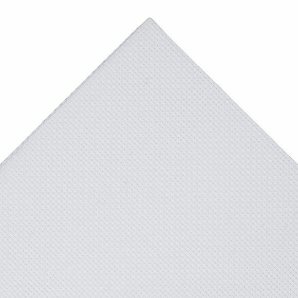 Aida Needlecraft Fabric 14 Count 30cm x 45cm White