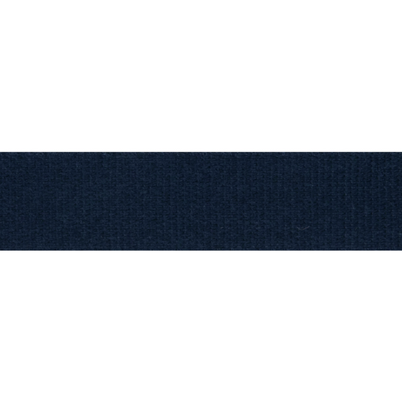 Cotton Tape 14mm Navy Blue