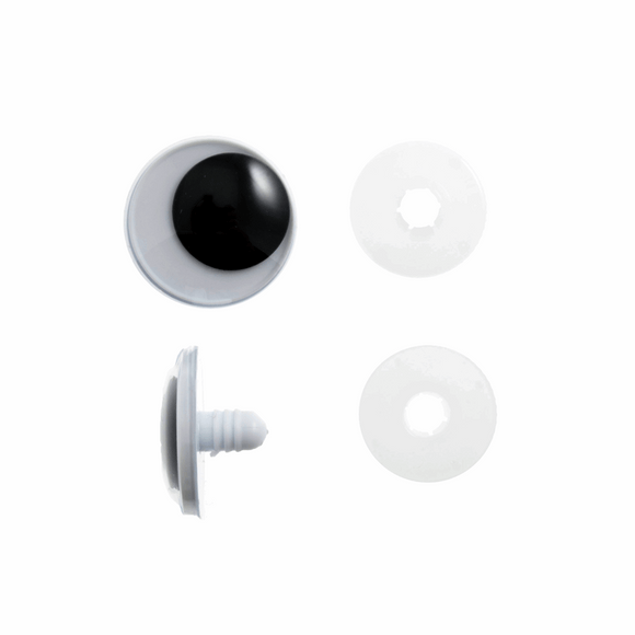 Safety Googly Toys Eyes 25mm 2 pieces