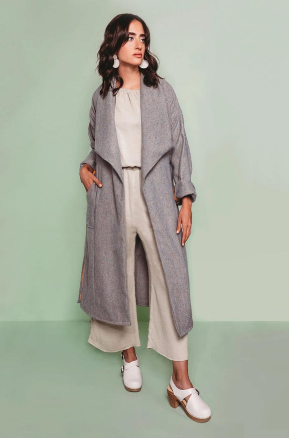 Friday Pattern Co Cambria Duster Coat Pattern