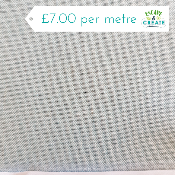 Cendra in Duck Egg Blue Polycotton by Indigo Fabrics