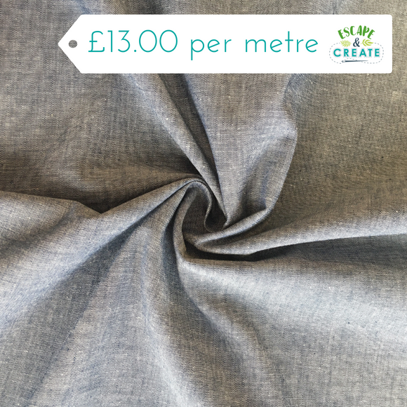 chambray fabric at escape and create