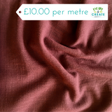 cotton slub fabric at escape and create