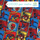 spiderman amazing spiderm-man fabric at escape and create