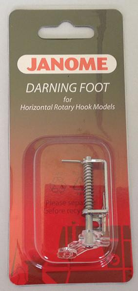 Sewing Machine Foot - Darning Embroidery - Janome