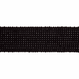 Cotton Acrylic Webbing Tape 30mm in Black