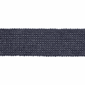 Cotton Acrylic Webbing Tape 30mm in Denim