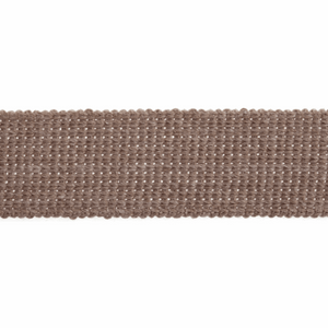 Cotton Acrylic Webbing Tape 30mm in Light Taupe