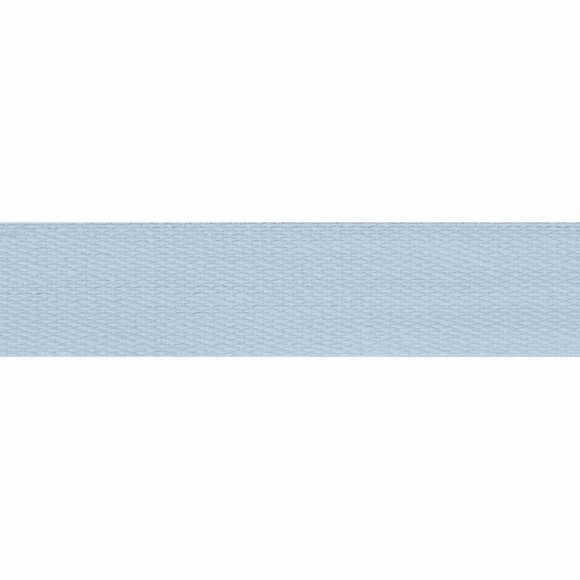 Cotton Tape 14mm Light Blue