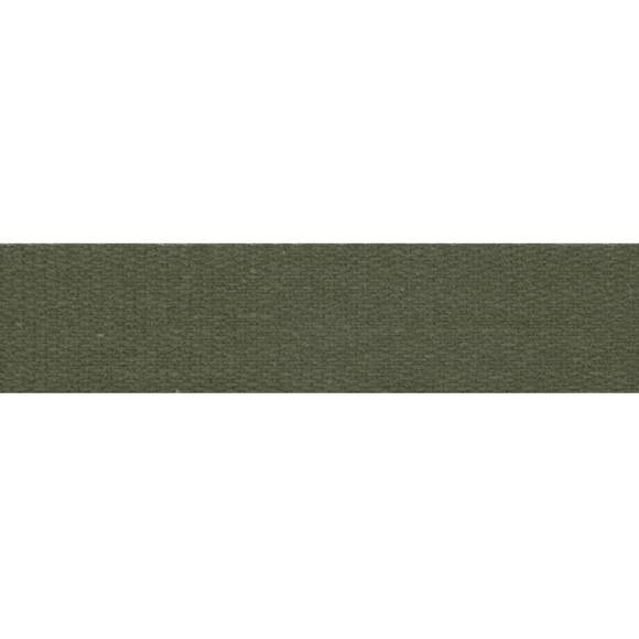 Cotton Tape 14mm Olive Green