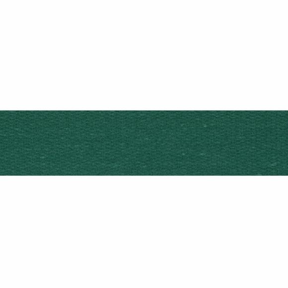 Cotton Tape 14mm Holly Green
