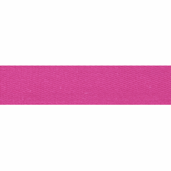 Cotton Tape 14mm Fuschia
